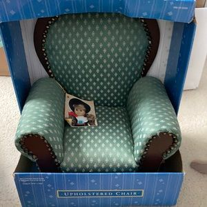 NWT Upholstered chair for dolls